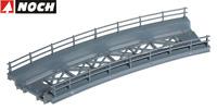 NOCH H0 21350 Brückenfahrbahn gebogen, Radius 360 mm - NEU + OVP