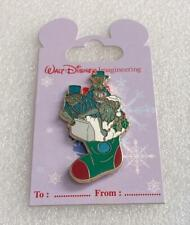 Disney WDI Haunted Mansion Hitchhiking Ghost Christmas Holiday Stocking LE Pin