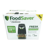 Food Saver By Sunbeam | Fresh Food Vacuum Sealer with Containers & Zipper Bags