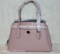 Coach Lora Carryall Tote Bag Large Leather Shoulder Purse Handbag Aurora Pink