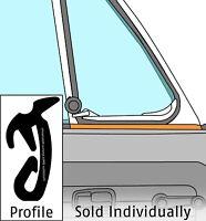 1965-1979 Volkswagen Beetle Convertible Inner Left Vent Wing Scraper 354721