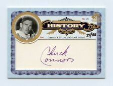 Chuck Connors 2006 Sp Legendary Cuts JSA COA 24/25 Cut Auto Autograph Signature