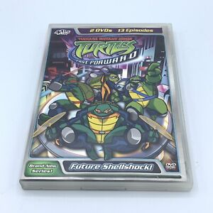Teenage Mutant Ninja Turtles Fast Forward Vol. 1 Future Shellshock DVD Set TMNT