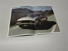 1981 PEUGEOT 504 COUPE & CABRIOLET BROCHURE, BELGIAN MARKET, in FRENCH. PRICES