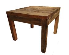 tavolino in legno da salotto giardino cucina tavolini per letto esterno quadrato