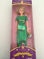 Princess Diana ROYAL DIANA Way Out Toys Collectable Doll NIB green barbie style