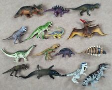 Large Bundle of 15 Solid Play Dinosaurs