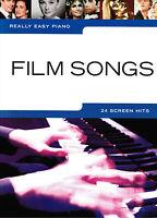 Klavier Noten : Film Songs (Really Easy Piano ) 24 Titel leicht - leiMittelstufe