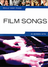 Klavier Noten : Film Songs (Really Easy Piano ) 24 Titel leicht - leMi - B-WARE