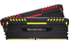 Corsair Vengeance RGB 16GB (2x 8GB) DDR4 Gamer Ram   3000MHz   CL16   RGB LED´s