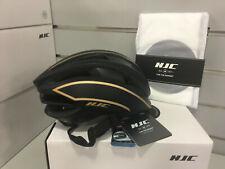 HJC Ibex Aerodynamic Road Helmet 55-59cm Size M (Matt-black & Gold)