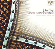 3CD JOHN CAGE - GIANCARLO SIMONACCI Complete Music for prepared piano