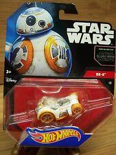 Star Wars Disney & Hot Wheels Cars BB-8 New! Great Design Features