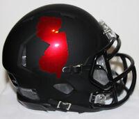 2018 Rutgers Scarlet Knights Custom Riddell Mini Helmet vs Illinois