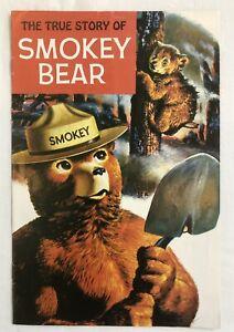 The True Story Of Smokey The Bear (Western, 1969) Comic associated with USDA.