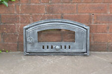 46.7 x 26.8 cm cast iron fire door clay bread oven doors pizza stove