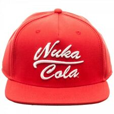 FALLOUT NUKA COLA RED SNAPBACK HAT CAP ADJUSTABLE LOGO FALT BILL VAULT BOY RETRO