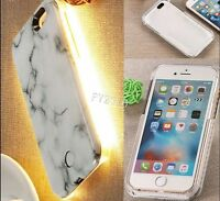 3D Marble Pattern LED Light Up Phone Case Cover for iPhone7 6G 6S Plus