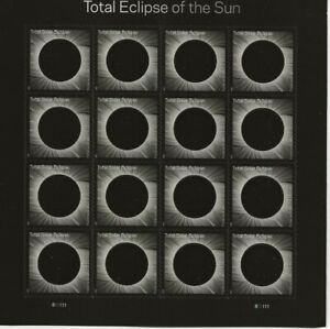 2017 Forever Total Eclipse full Sheet of 16, Scott #5211, Mint NH