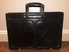 Mens Genuine Leather Briefcase Laptop Handbag Business solid structured work bag
