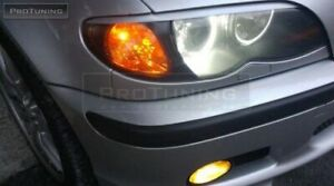ABS PLASTIC EYEBROWS FOR BMW 3 SERIES E46 SEDAN WAGON