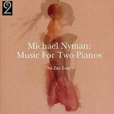 Michael Nyman : Music for Two Pianos (Nyman, the Zoo Duet) CD (2004) ***NEW***