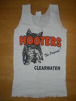 New Hooters Girl Sexy Authentic Uniform White Tank Clearwater FL XS SM MED LRG