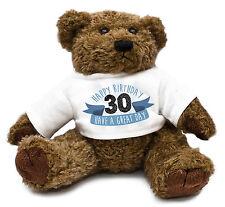 30th Birthday Teddy Bear Gift Idea Present Special Son Mens Cute Family #31