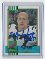 1990 PACKERS Mark Murphy signed card Topps #153 AUTO Autographed Green Bay
