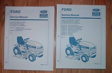 FORD GT65 GT75 GT85 GT95 LAWN & GARDEN TRACTOR & ENGINE SERVICE MANUALS SET