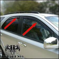 Set 4 Déflecteurs de vent pluie air teintées pour Kia Sorento I 2002-2009