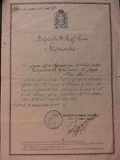 005 Diploma per i combattenti sul fronte Albano- Greco Jugoslavo - 1943