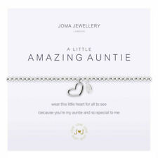 Joma Jewellery a Little Amazin Auntie Silver Plated Bracelet