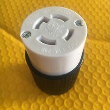 L14-30 Locking Female Generator Plug 30A 125/250V (L14-30C) UL Listed - Set of 1