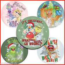 Christmas The Muppets Stickers x 5 - Xmas Gift - Kermit - Secret Santa Ideas