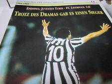 Fußball 11 1984-1985 Endspiel Juventus Turin FC Liverpool 1:0 Platini
