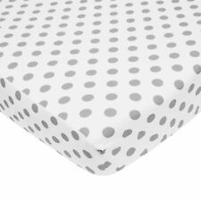 American Baby Company 100% Cotton Percale Fitted Crib Sheet for Standard Crib.