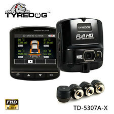 TYREDOG TPMS DVR Wireless Tire Pressure Monitoring System TPMS Fast Shipping