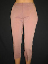 Pantaloni da donna marrone in cotone