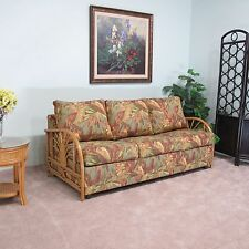 Sundance Rattan Queen Sofa Sleeper Contract Quality (Made In USA)