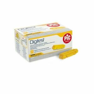 Lancette glicemia Pungidito monouso Digitest Pic diametro 30 mm 30G 200 Pezzi