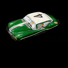 Vintage Green Tin Litho Japan Toy Race Car