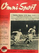 Omni Sport n°7 - 1946 - Rugby Pau Agen - Van Steenbergen - Tony Zale - Lecuirot