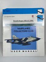 Vintage War Planes Collectors Club Cards Set Lot Educational Atlas Editions