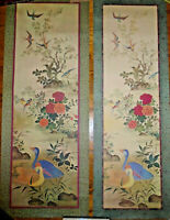 VINTAGE 1963 LITHOGRAPH BIRDS LOT OF 2