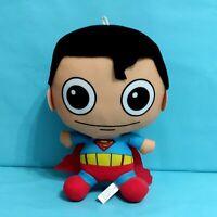 "DC Comics Caricuture Original Superman Plush Stuffed Doll Toy 9"" Item #3083160"
