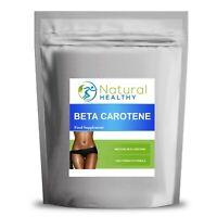 60 BETA CAROTENE TABLETS - GOOD SKIN HEALTH - TANNING PILLS 8MG