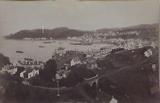 Oban & Fingalls Gave Staffa Scotland UK 2 Photos Vintage albumen 1880's