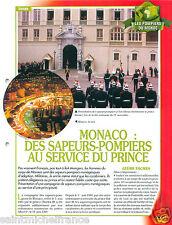 Equipments Materials Firefighting Principauté Monaco Pompier FICHE FIREFIGHTER