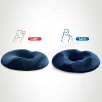 Coccyx Pain Relief Memory Foam Comfort Donut Ring Chair Seat Cushion Pillow